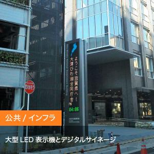 納入事例3【LED表示機、デジタルサイネージ】