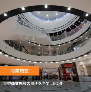 納入事例4【環境部照明のLED化】