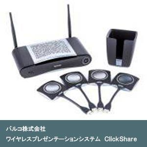ワイヤレスプレゼンテーションシステム ClickShare